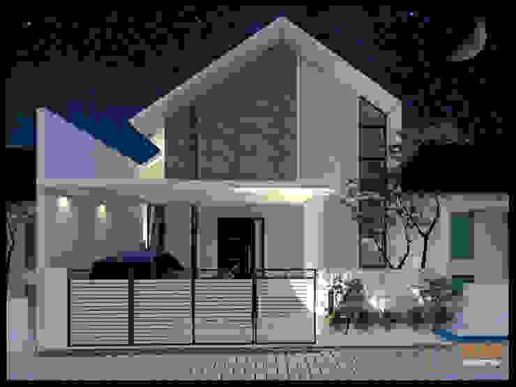 CV Leilinor Architect บ้านระเบียง Grey