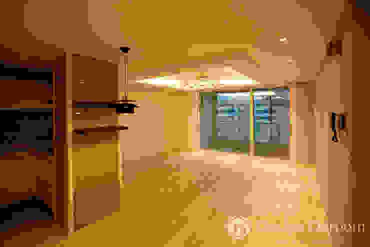 쌍문동 신원2차 37py 거실 모던스타일 거실 by Design Daroom 디자인다룸 모던