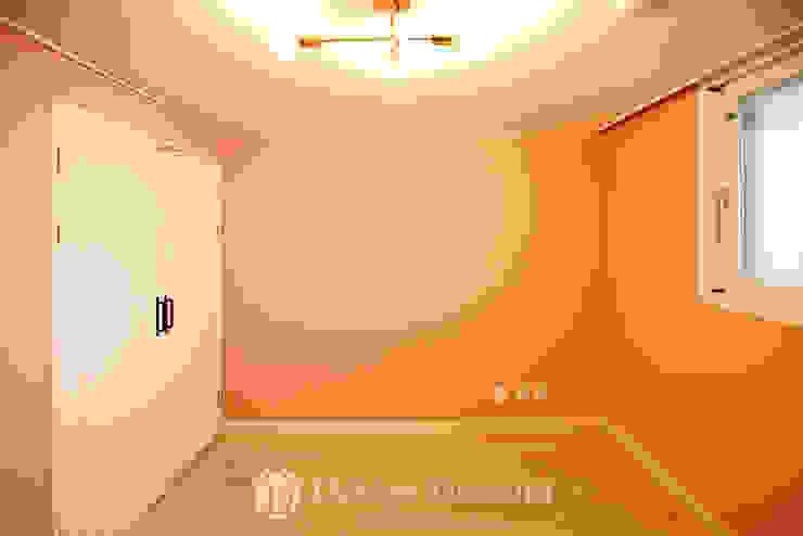 쌍문동 신원2차 37py 침실 모던스타일 침실 by Design Daroom 디자인다룸 모던