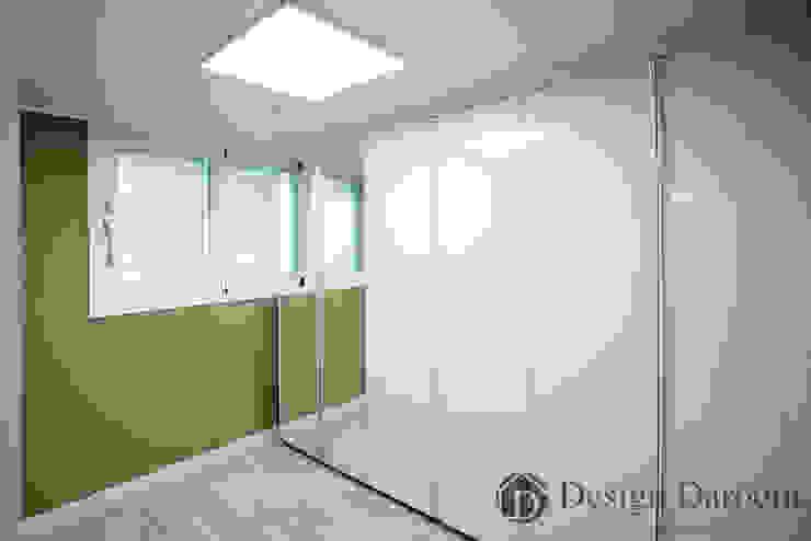 쌍문동 신원2차 37py 드레스룸 모던스타일 침실 by Design Daroom 디자인다룸 모던