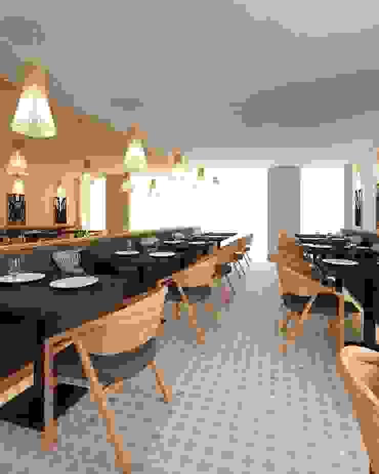 Comedores minimalistas de MIA arquitetos Minimalista