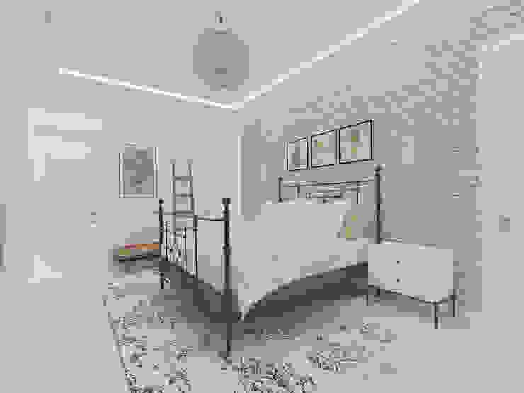 Korkuteli KÖY EVİ ASN İç Mimarlık Küçük Yatak Odası Ahşap Beyaz