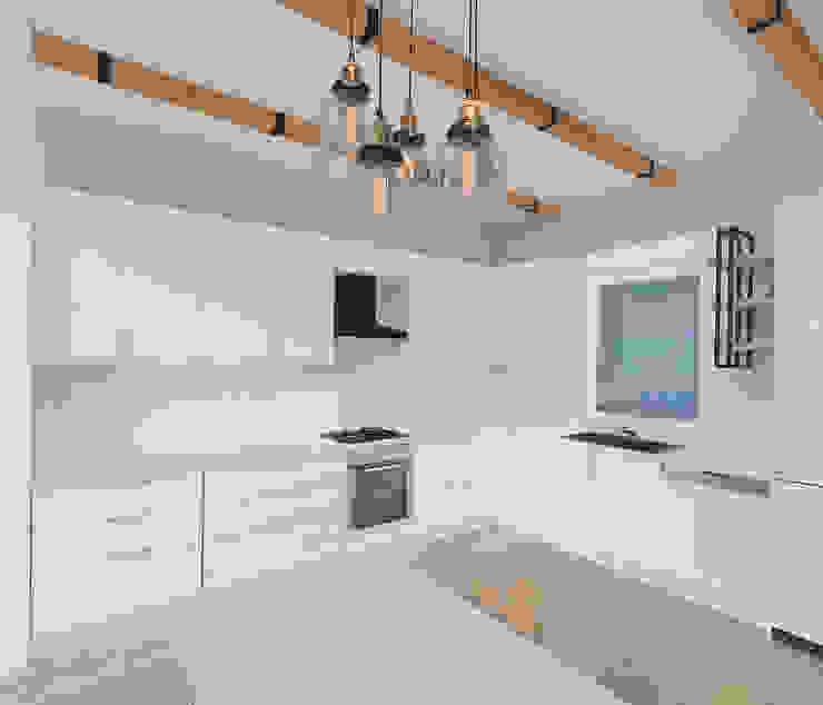 Korkuteli KÖY EVİ ASN İç Mimarlık Mutfak üniteleri Ahşap Beyaz