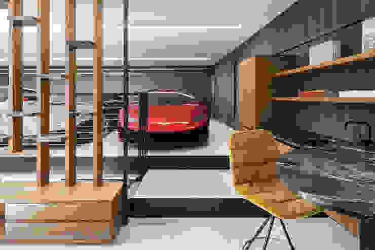 destilat Design Studio GmbH Garajes modernos