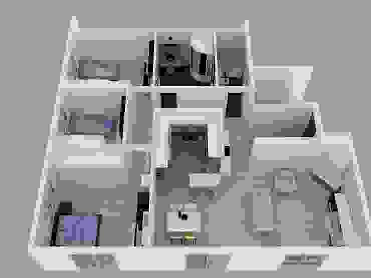 KONUT PROJESİ İSVİÇRE ARTERA İÇ MİMARLIK VE MİMARLIK Modern Evler