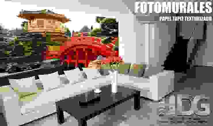 Fotomural Sala de HOME DECO & HOME GLASS Asiático