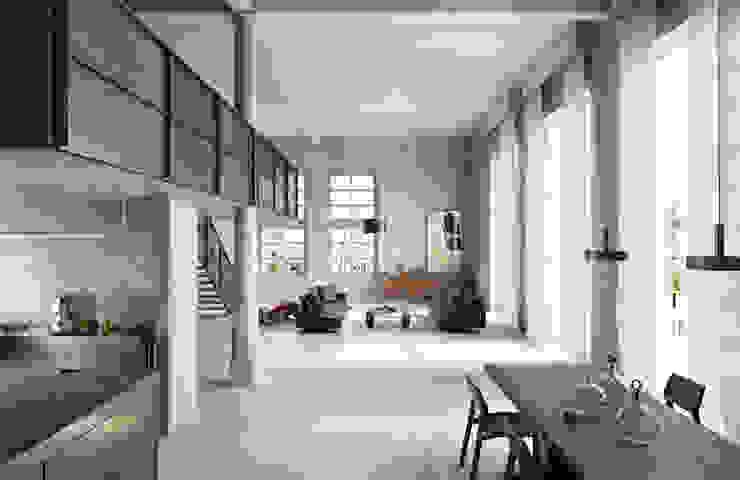 Spadon Agenturen Dormitorios modernos: Ideas, imágenes y decoración Cerámico Gris