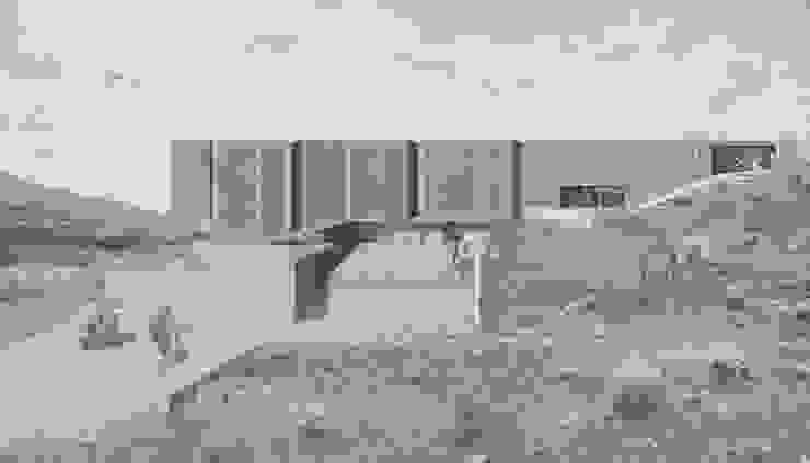 CFT Ovalle Casas estilo moderno: ideas, arquitectura e imágenes de Logan Leyton Arquitectos Moderno Concreto