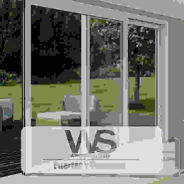 ventanas en PVC - de HOME DECO & HOME GLASS Asiático