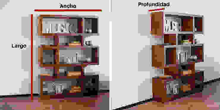 Medir espacios una regla de la decoración : Hogar de estilo  por Muebles Dico,