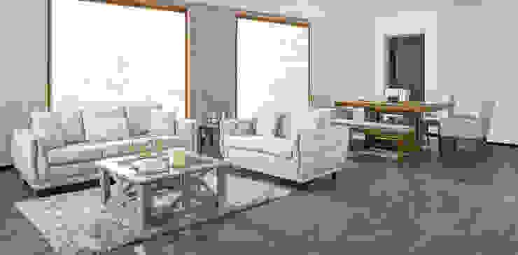 Medir espacios una regla de la decoración : Salas de estilo  por Muebles Dico,