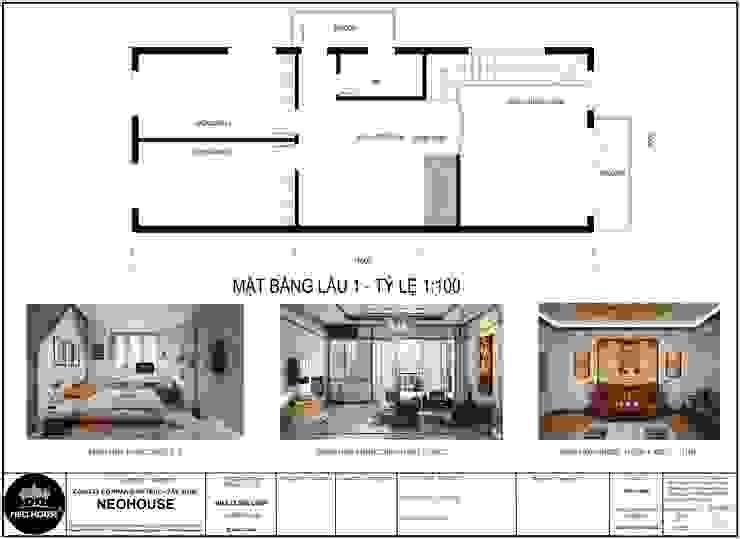 Mẫu biệt thự 2 tầng hiện đại độc đáo tại Tam Kỳ, Quảng Nam bởi NEOHouse