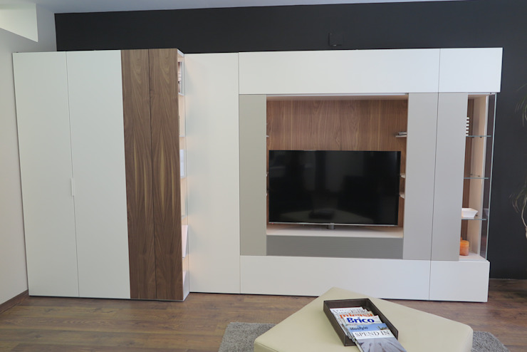Modern Living Room by Buk Design Leon Modern