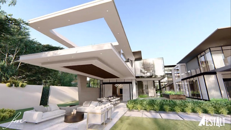 Hyde Park Luxury residence:  Houses by FRANCOIS MARAIS ARCHITECTS,
