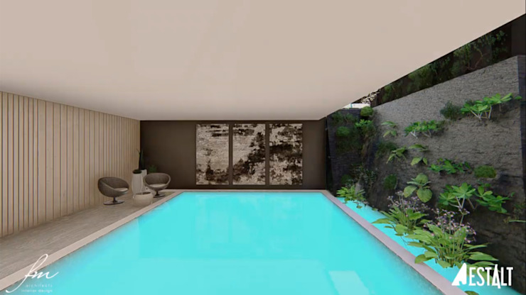 Modern Pool by FRANCOIS MARAIS ARCHITECTS Modern