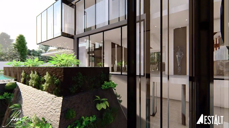 Hyde Park Luxury residence Modern Garden by FRANCOIS MARAIS ARCHITECTS Modern