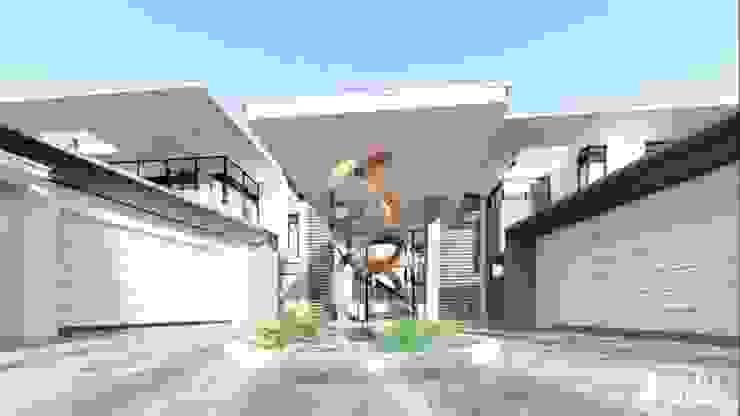 Garasi Modern Oleh FRANCOIS MARAIS ARCHITECTS Modern