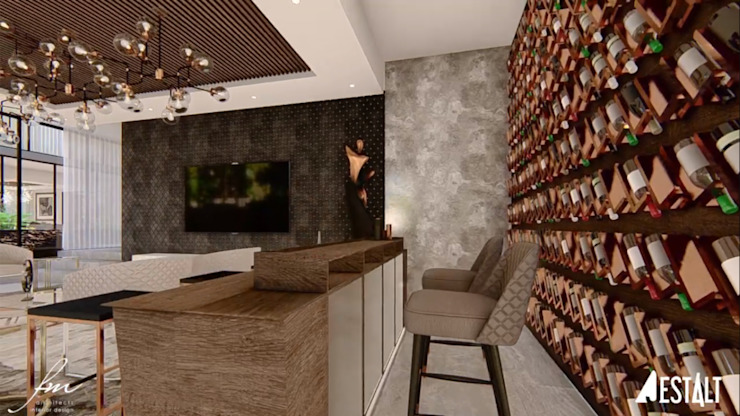 Hyde Park Luxury residence Modern living room by FRANCOIS MARAIS ARCHITECTS Modern