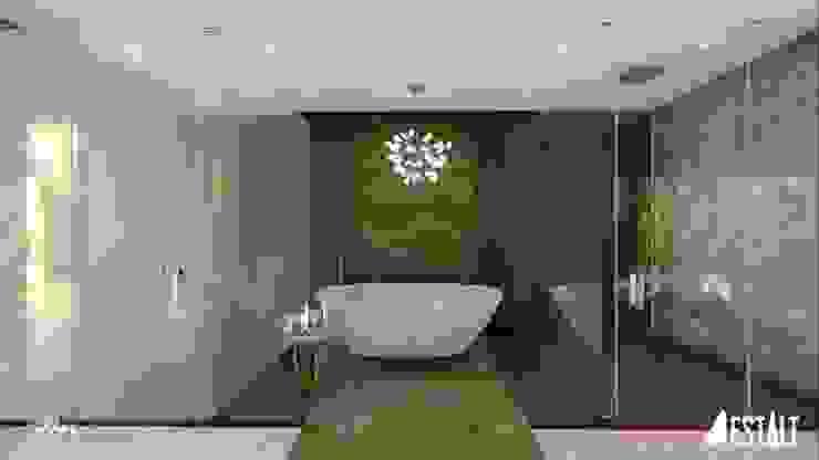 Hyde Park Luxury residence Modern bathroom by FRANCOIS MARAIS ARCHITECTS Modern