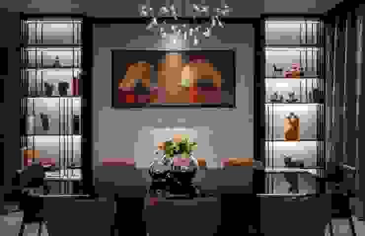 Bishopgate Residences Modern dining room by Summerhaus D'zign Modern
