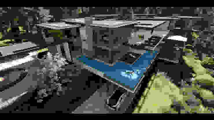An ultra modern cantilever residence in Kwazulu-Natal by FRANCOIS MARAIS ARCHITECTS Modern