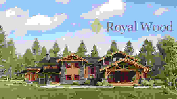Роял Вуд Wooden houses