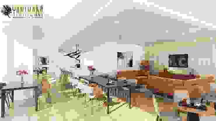 Yantram Architectural Design Studio Corporation Tangga Brown