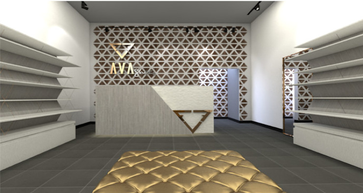 Ruang Komersial Modern Oleh Castro & Gamero Modern