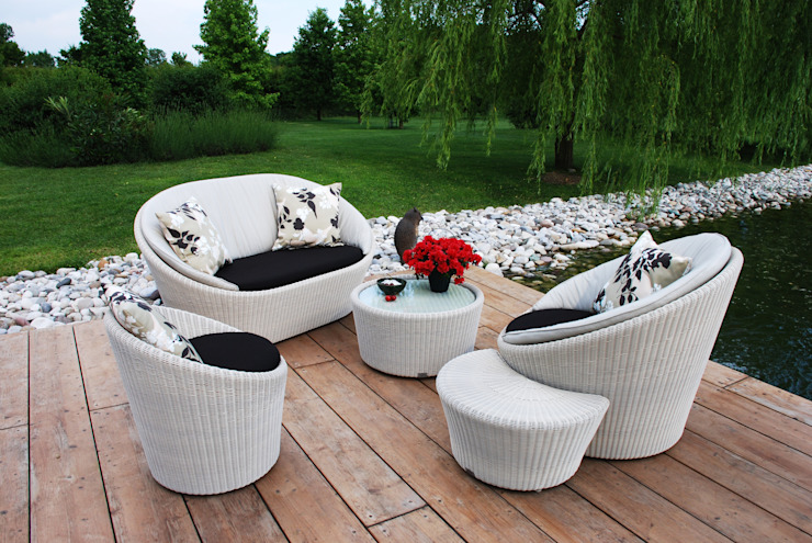 Sech Home Garden Furniture White