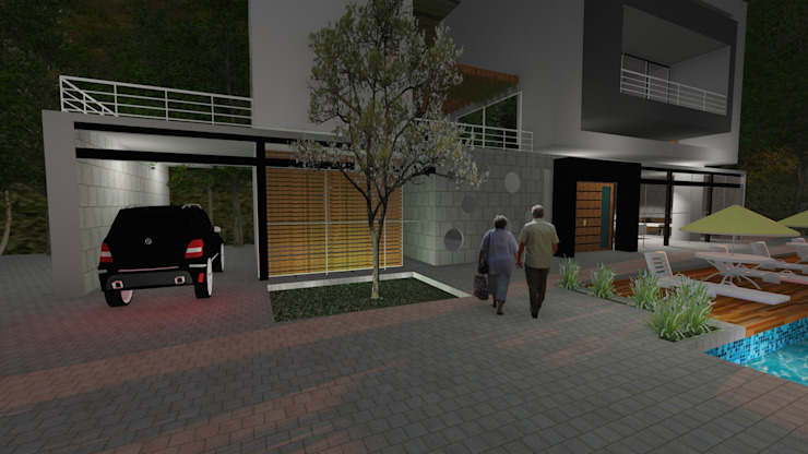 CASA CALDERÓN de Diseño Colectivo Grupo Moderno
