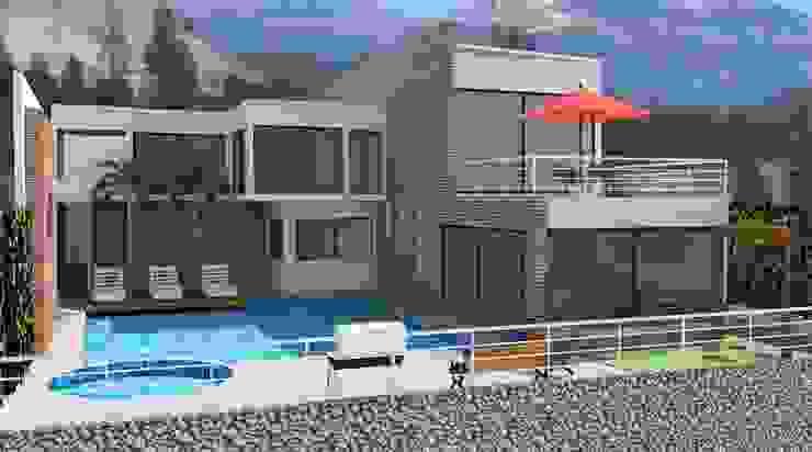 Casa B4 de Diseño Colectivo Grupo Moderno