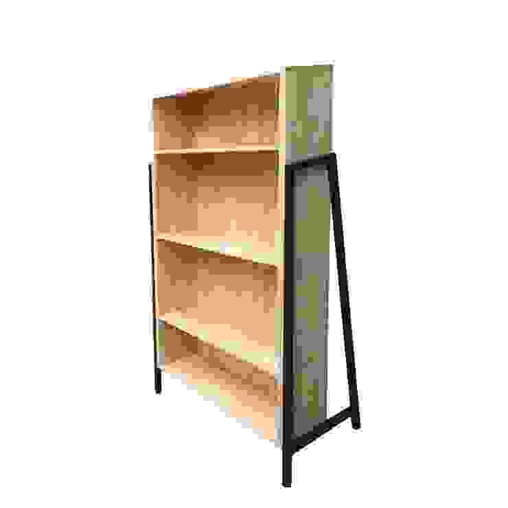 """Kệ sách gỗ Laderto """"thay đổi cục diện"""" trong phong cách nội thất: tối giản  by Home Office, Tối giản"""