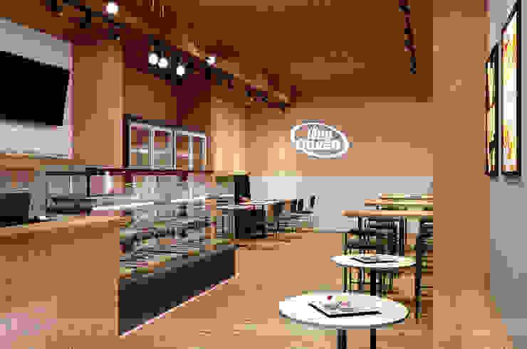 Jelly Queen Phòng ăn phong cách tối giản bởi Bdoup Architects Tối giản
