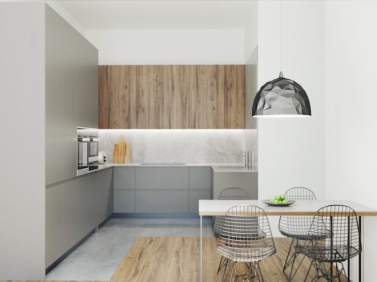 Projecto Cozinha por Fachada Arquitectos Moderno MDF