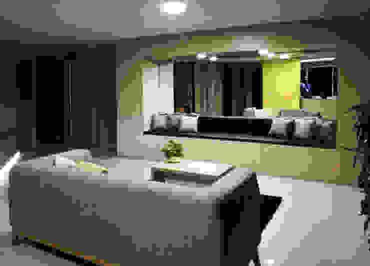 Modern Koridor, Hol & Merdivenler EMME ARQUITECTURA S.A.S. Modern