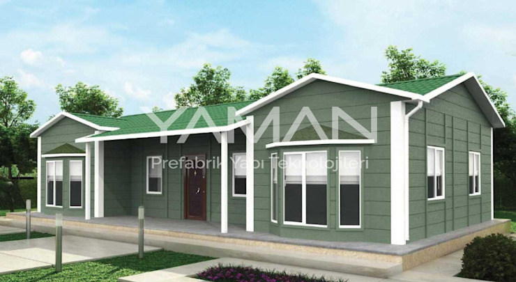 Prefabricated home by Prefabrik Ev (Yaman Prefabrik),