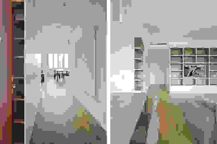 JFD - Juri Favilli Design Minimalist corridor, hallway & stairs Beige