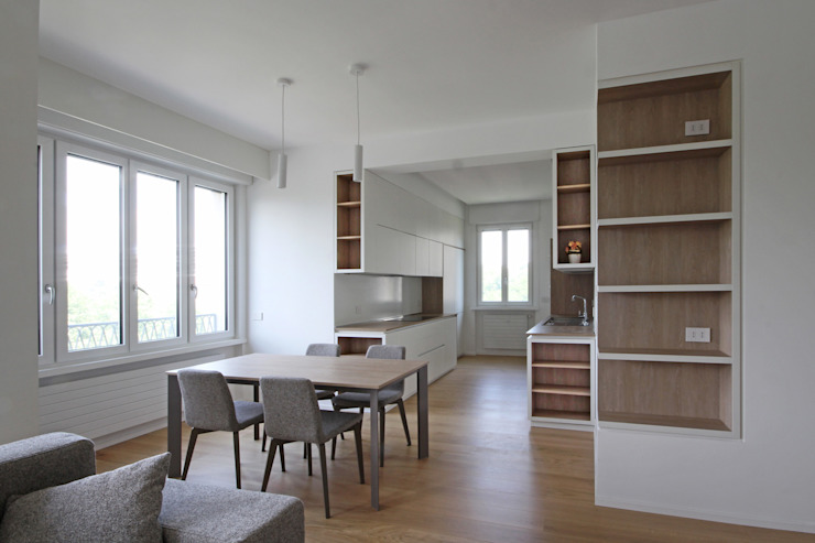 JFD - Juri Favilli Design Minimalist dining room White