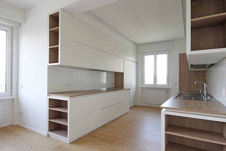 JFD - Juri Favilli Design Built-in kitchens White