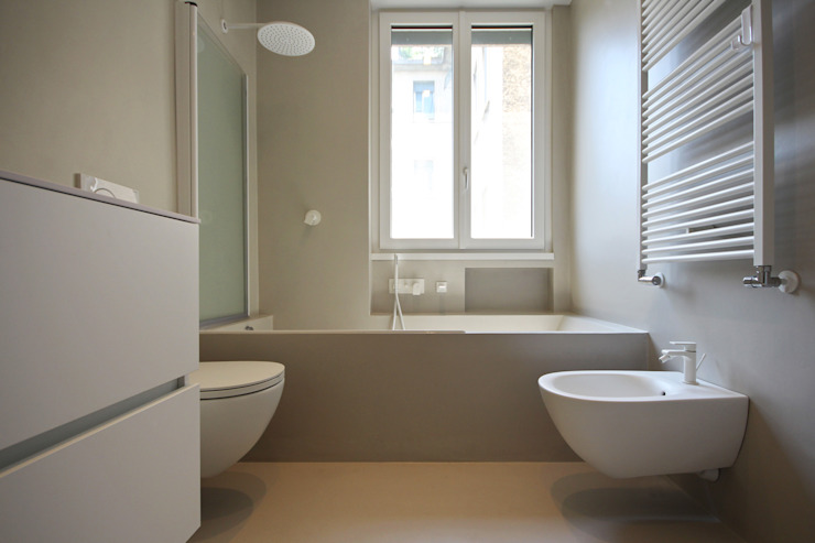 JFD - Juri Favilli Design Minimalist style bathrooms White
