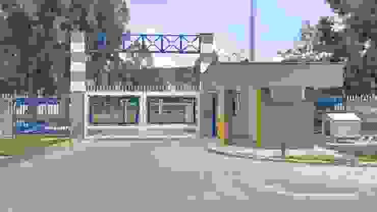 Cerramiento en malla Colegio La Salle Bogota Casas modernas de Erick Becerra Arquitecto Moderno