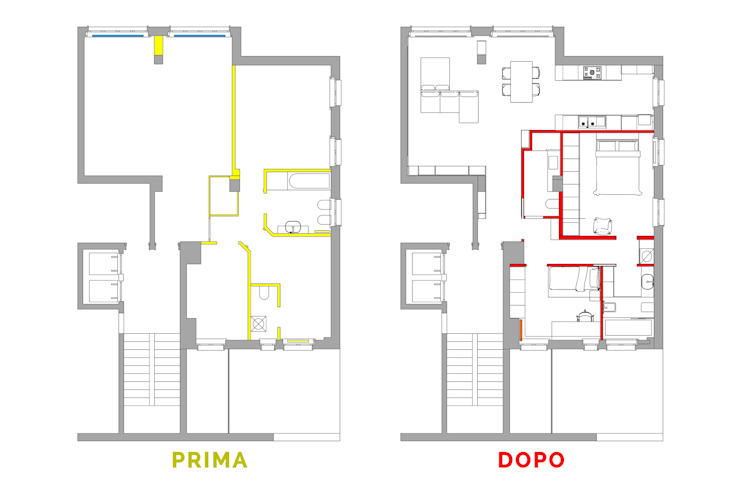JFD - Juri Favilli Design Multi-Family house