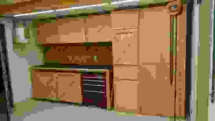 Lado Norte Taller Carport Wood Wood effect