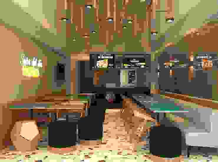 Proyecto Restaurante Mexicano de ea interiorismo