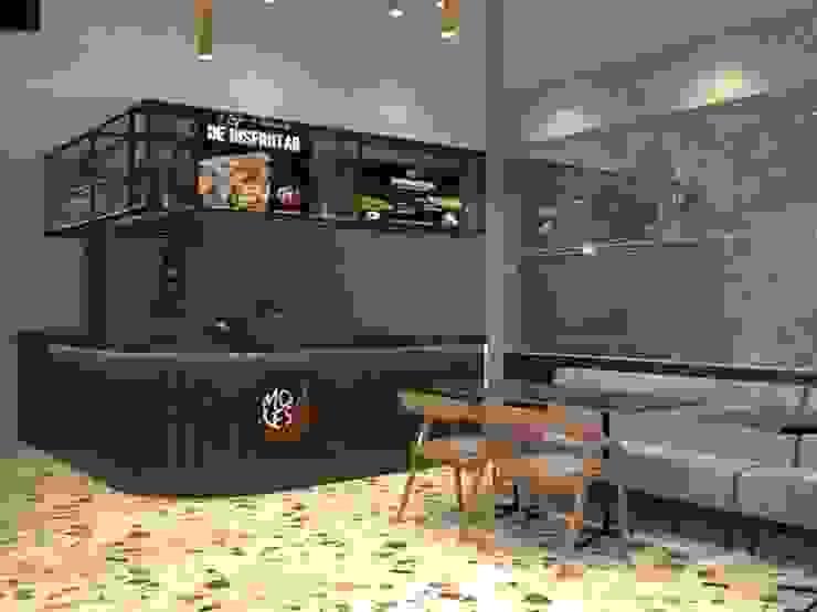 Restaurante Mexicano - diseño comercial de ea interiorismo
