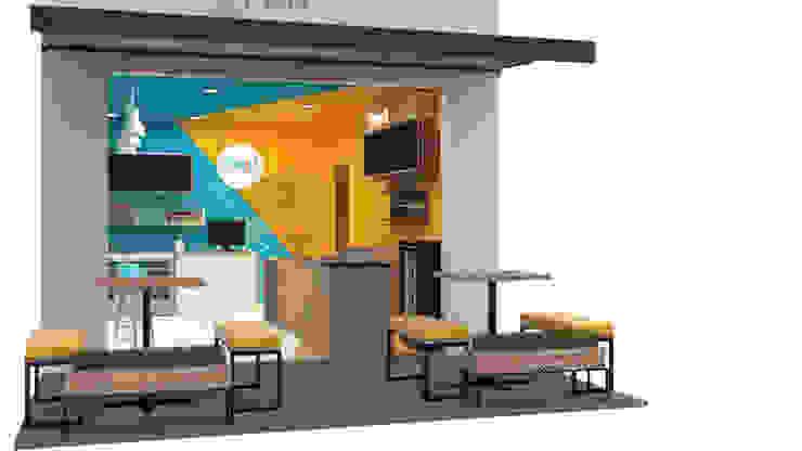 Propuesta de restaurante DE LILI BISTRO de Nuvú - Lideres en espacios comerciales.