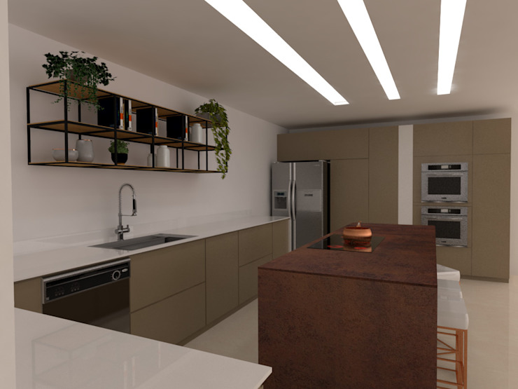 von Naromi Design Modern Holz Holznachbildung