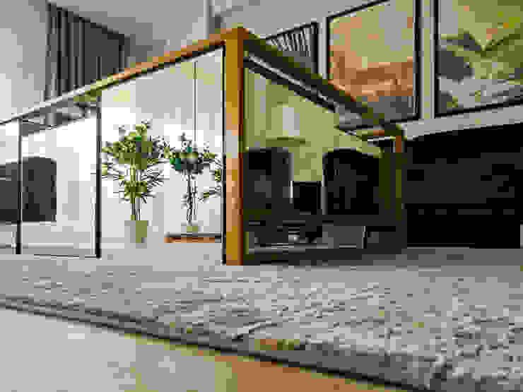 Kuşçu Evi LIA Mimarlik İcmimarlik Modern Oturma Odası