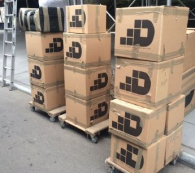 Dumbo Moving and Storage NYC KitchenCabinets & shelves