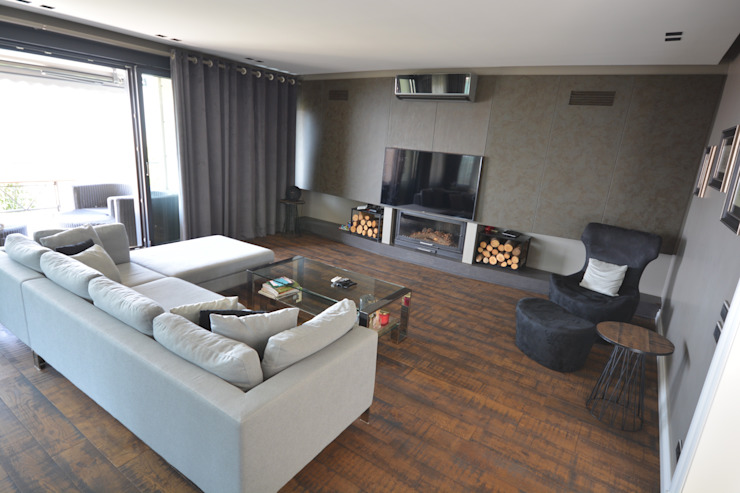 Living room by Magna Mimarlık, Modern